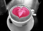 Quán café và chiếc áo len màu tro xám