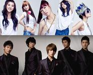 DBSK trở lại, 4Minute làm khách mời của ca sĩ Mỹ nổi tiếng
