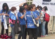 Chùm ảnh fan Việt 'săn đuổi' Super Junior
