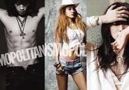 Lee Hyori, Bi Rain, Yoon Eun Hye trên tạp chí tháng 5
