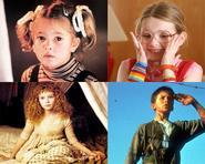 Những diễn viên thành sao từ khi còn bé (P2)
