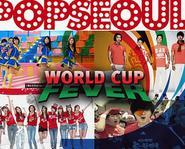Bạn chọn ca khúc cổ vũ World Cup 2010 của nhóm nhạc Hàn nào?