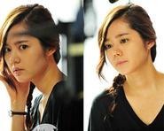 """Han Ga In nổi bật trên phim trường """"Bad Guy"""""""