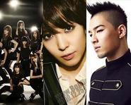 """Oh' của SNSD phá kỷ lục - Xem Tae Yang (Big bang) ""yêu"" Sandara Park (2NE1)"