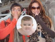 Hôm nay đầy tháng con trai của Hà Hồ - Cường Đô La