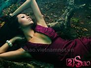 """Angie Vũ Hà """"lả lơi"""" trong """"Vườn địa đàng"""""""