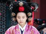 """""""Dong Yi"""" Han Hyo Joo đội mão 7kg trong tạo hình Thứ phi"""
