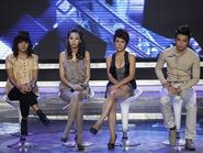 """Vietnam Idol: Thí sinh nhại Ban giám khảo  - Quốc Trung """"đá"""" sao Việt?"""