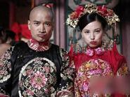 Những cảnh hậu trường hài hước phim cổ trang Hoa Ngữ (5)