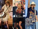 Carrie đầy hoang dại bên Steve Tyler - Taylor Swift chơi guitar xinh như thiên thần