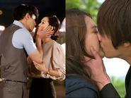 """Những nụ hôn khiến fan phát """"sốt"""" trong phim Hàn ( P.2)"""