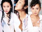 Sao nữ Hoa ngữ gợi cảm với sơ-mi trắng (2)