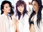 Sao nữ Hoa ngữ gợi cảm với sơ-mi trắng (3)