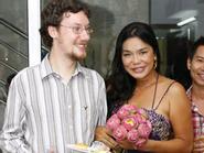 Người đẹp chuyển giới Cindy Thái Tài khoe bạn trai