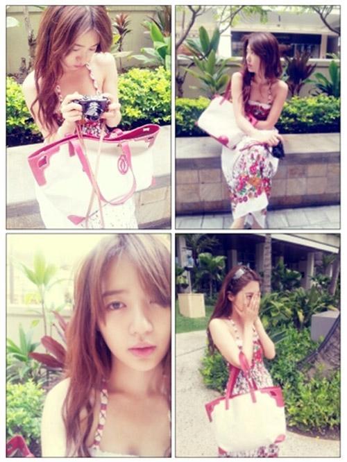 Yoon Eun Hye khoe ảnh xinh đẹp không tì vết ……
