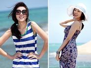 Mẫu váy đi biển xinh như tiểu thư