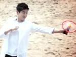 Dân mạng xôn xao Kim Hyun Joong chơi đĩa bay made in Việt Nam