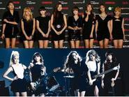 Hấp dẫn trận đối đầu cuối năm của SNSD và Wonder Girls