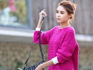 Mẫu  áo len sành điệu cho bạn trẻ