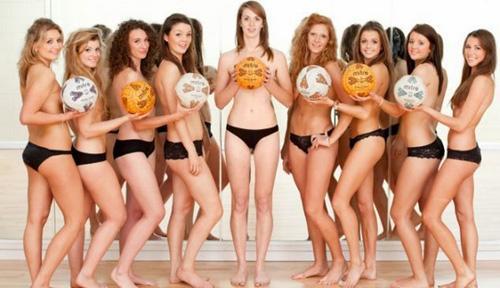 Đội bóng rổ nữ khỏa thân lên lịch