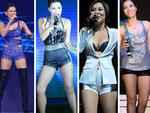 Thu Minh có nhiều quần đùi nhất giới ca sĩ