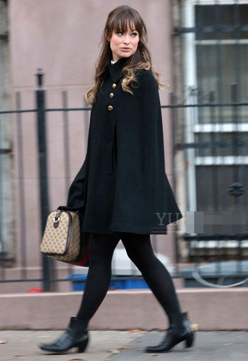 Những mẫu áo khoác đen làm mê mẩn Sao Hollywood