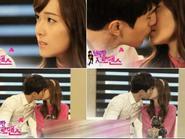 Lee Dong Wook hôn Jessica (SNSD) như cặp tình nhân thực sự