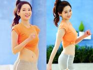 Cô nàng từng mũm mĩm Kang Min Kyung khoe body tuyệt đẹp