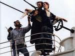Cảnh hậu trường thú vị của phim 'Titanic'