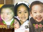 Tiết lộ ảnh thời thơ ấu dễ thương của 3 thành viên SNSD