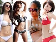 Kiều nữ Việt diện bikini khoe ngực đẹp