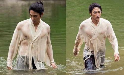 Song Seung Hun khoe body vạm vỡ trong phim Dr.Jin!