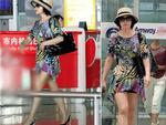 Lưu Hiểu Khánh 61 tuổi khoe chân mượt như thiếu nữ