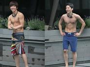 Cơ bắp quyến rũ của Ki Bum (Super Junior) hút hồn fan