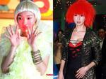 Châu Tấn và Lâm Chí Linh đọ cá tính với kiểu tóc