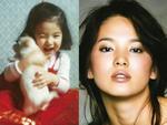 Lộ thêm ảnh độc thời thơ ấu của Song Hye Kyo