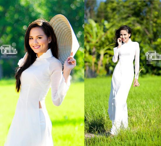 Net dep nen na cua sao Viet trong trang phuc truyen thong
