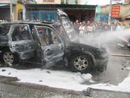 """Hé lộ """"nghi phạm"""" mới gây cháy xe hàng loạt"""