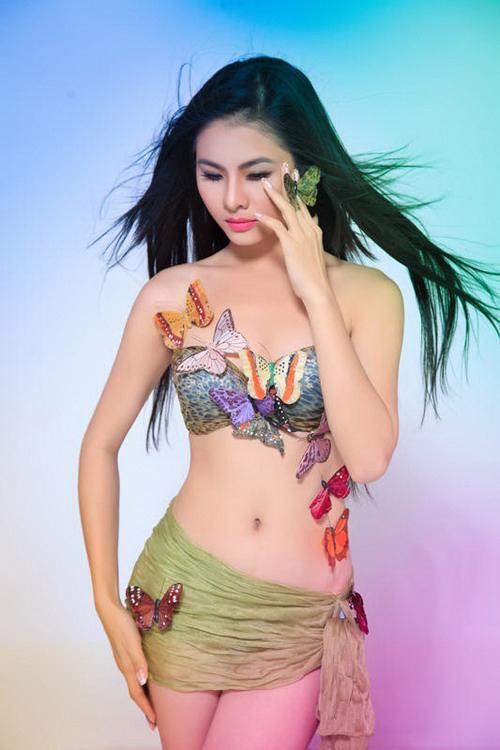 15 Vong eo con kien chua day 60 cm cua my nhan Viet