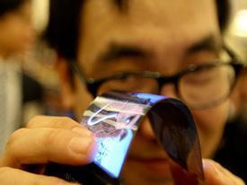 Samsung đã có màn hình điện thoại uốn dẻo