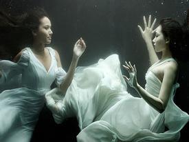 Ảnh thời trang dưới nước độc đáo chụp bằng 5D Mark III