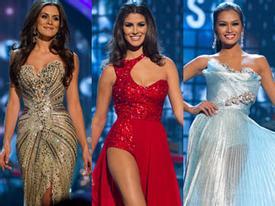 Top 10 Miss Universe 2012 lộng lẫy với áo dạ hội