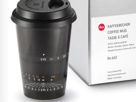 Leica bán cả cốc cafe hình ống kính