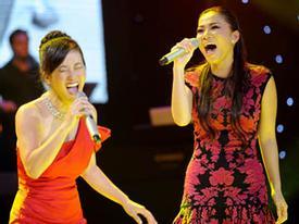 Sửng sốt màn đọ giọng 'khủng khiếp' của Hồng Nhung và Thu Minh