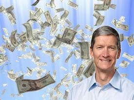 Apple 'chỉ' trả 4,15 triệu USD cho Tim Cook trong năm 2012