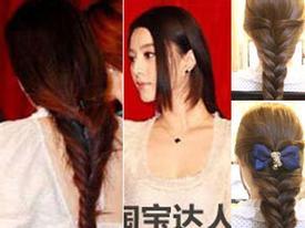 Học cách tết tóc yêu kiều như Phạm Băng Băng