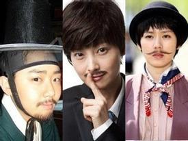 Kiều nữ Hàn chi chít 'râu ria': Ai đẹp trai nhất?