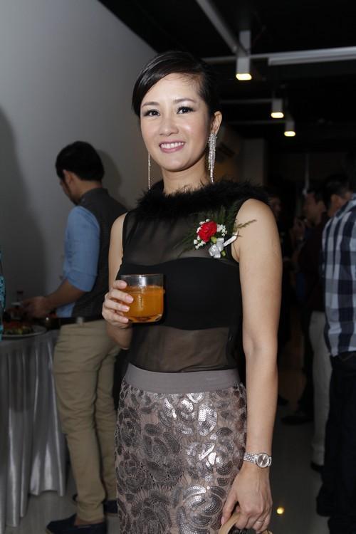 Huong Giang Idol xinh tuoi chuc mung My Tam