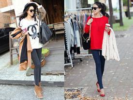 Bí quyết mặc Jeans tuyệt đẹp ngày đông