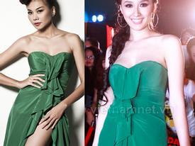 Mai Phương Thúy mặc lại váy của Thanh Hằng, ai đẹp?